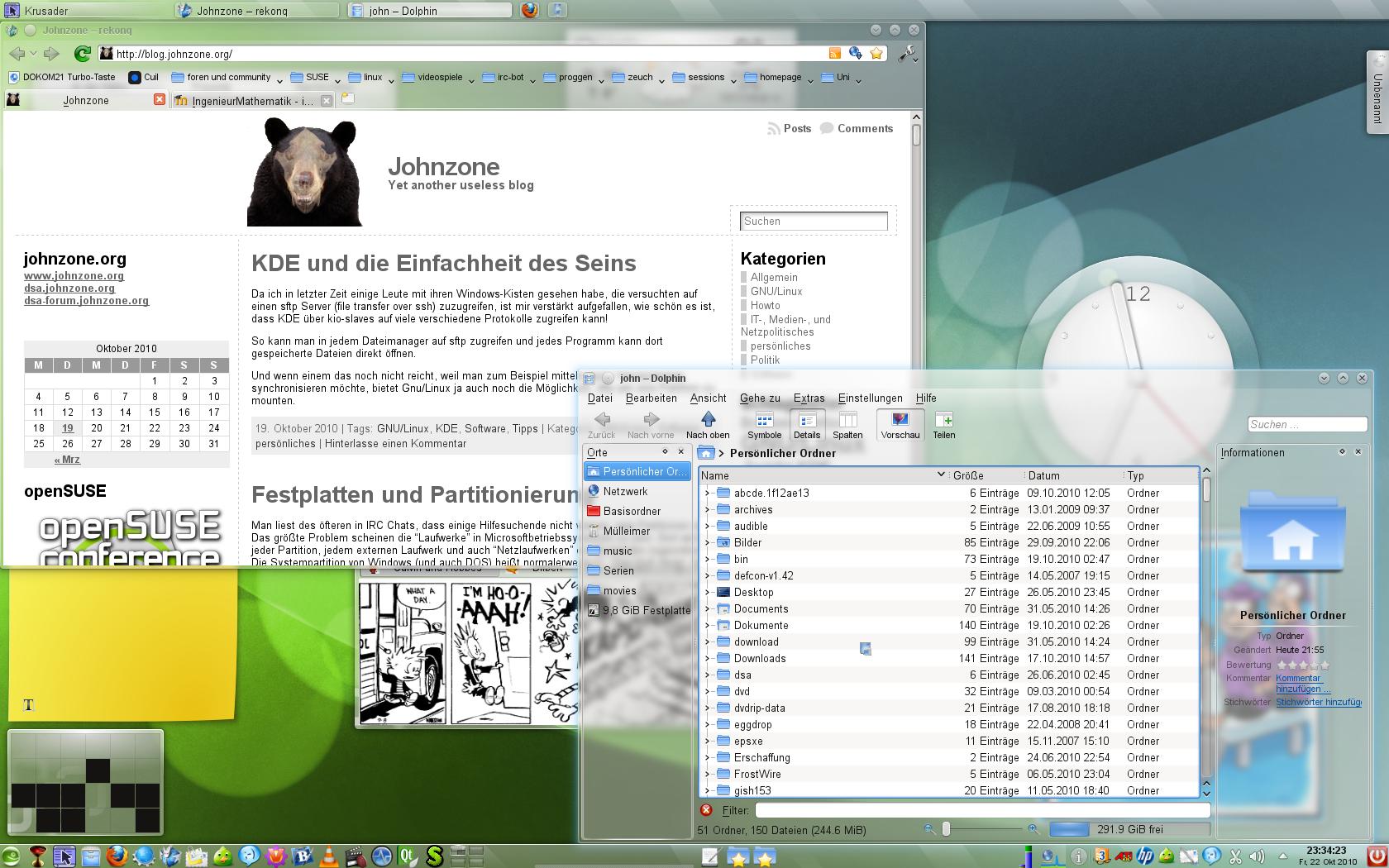 KDE 4.5.2